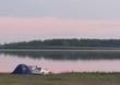 Озеро Медвежье, Курганская область - отдых дикарями - 007