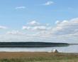 Озеро Медвежье, Курганская область - отдых дикарями - 013