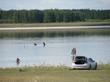Озеро Медвежье, Курганская область - отдых дикарями - 016