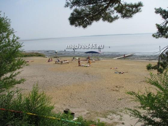 Санаторий «Озеро Медвежье» - 011 - Санаторский пляж