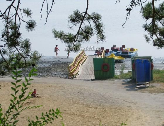 Санаторий «Озеро Медвежье» - 018 - Лечебный фактор курорта - вода солёного озера (рапа)