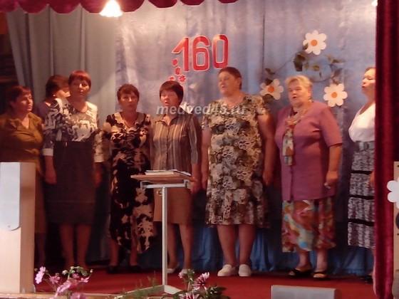 Село Новое Ильинское (Курганская область) - 008 - Выступает хор жителей села