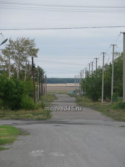 Поселок Курорт Озеро Медвежье (Курганская область) - 004 - Асфальтированные дороги в посёлке почти везде