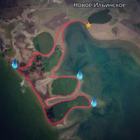 Чемпионат «Здоровый как лось» (курганский этап - озеро Медвежье, Курганская область) - Предварительный маршрут