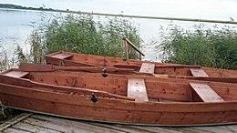 Лодки в прокат у базы отдыха «Медвежий остров» возле села Новое Ильинское