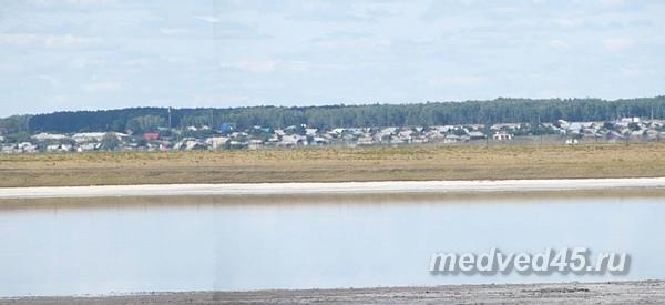 Частный сектор на озере Медвежьем в Курганской области - поселок Курорт «Озеро Медвежье»