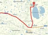 Как доехать на озеро Медвежье (схема проезда)